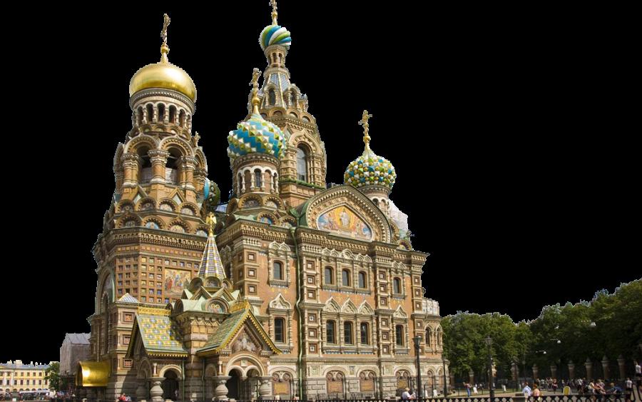 Landmark Building in Russia PNG Image