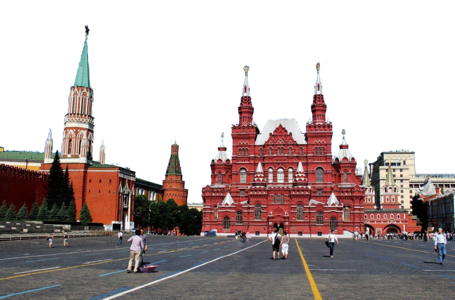 Buildings in Russia PNG Image