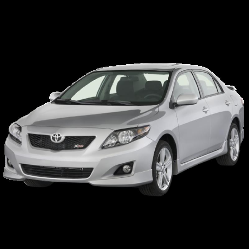 Sedan 2009 Toyota Corolla PNG Image