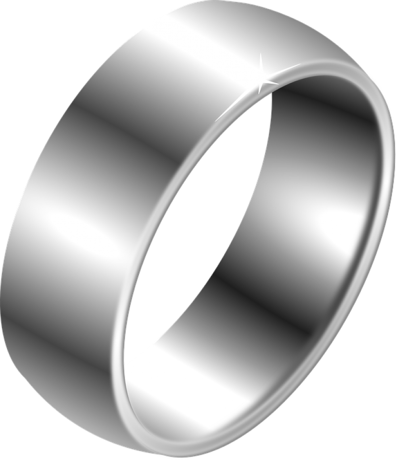 Silver Ring PNG Image