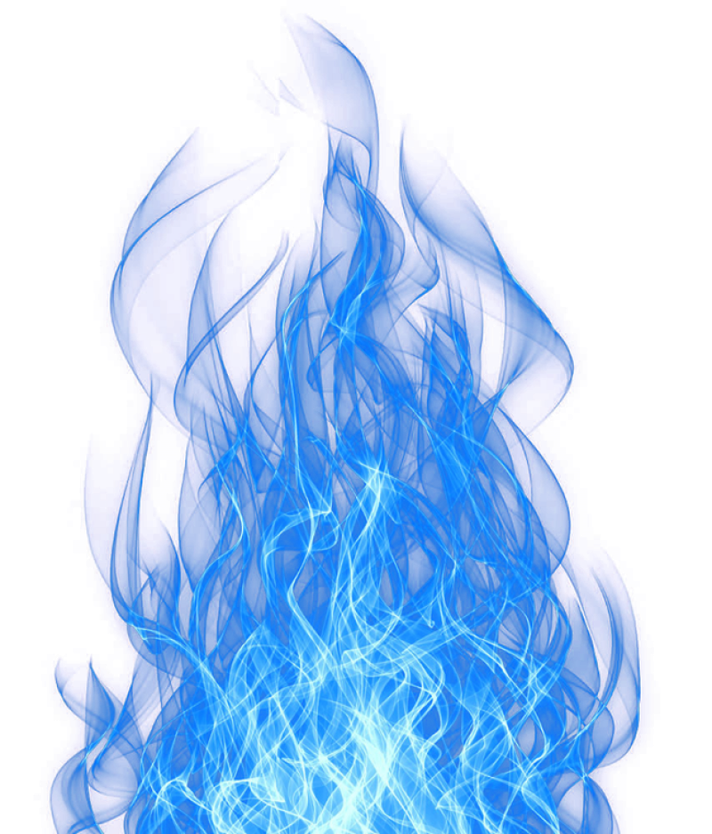Smoke Blue Effect PNG Image