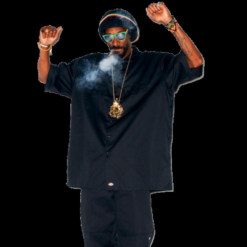 Smokeing Snoop Dogg PNG Image