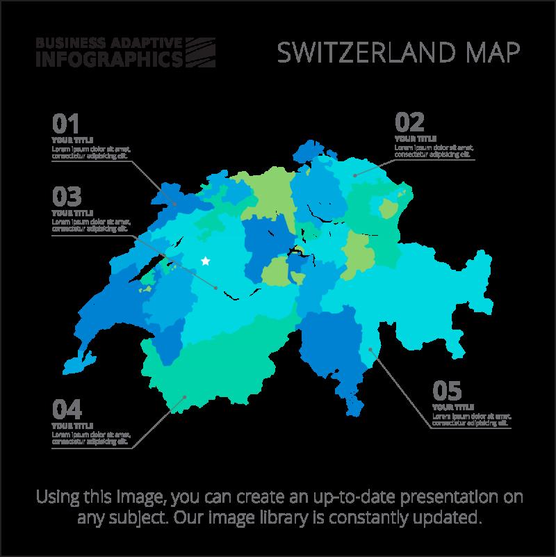 Switzerland Map PNG Image