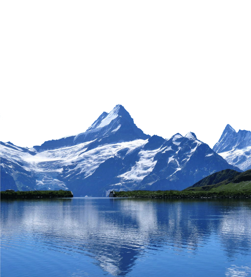 Switzerland -Mountains and Lakes PNG Image