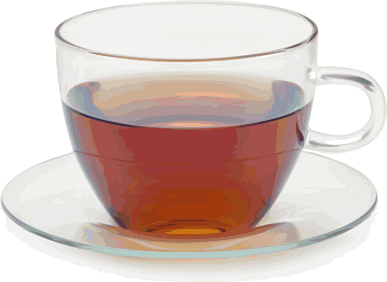 Tea in a  Cup PNG Image