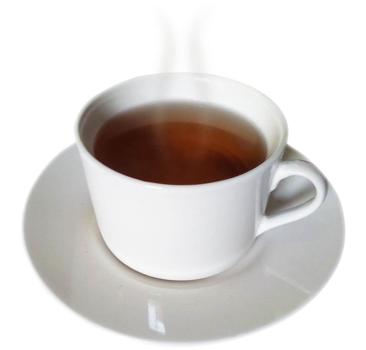 Tea in a  White Cup PNG Image