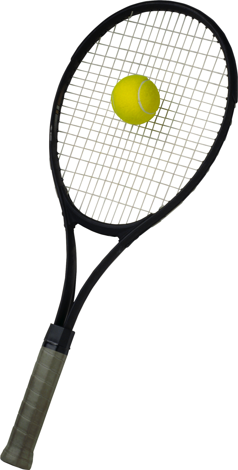 Tennis Racket with ball PNG Image