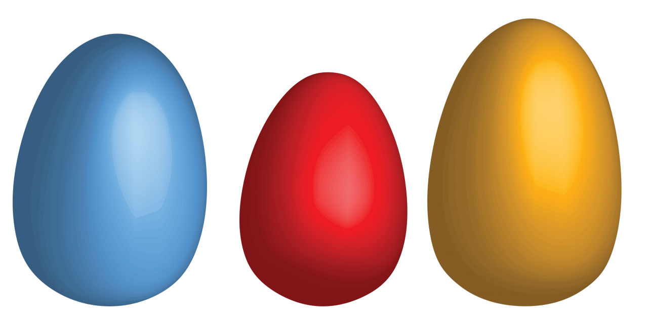 Three Eggs PNG Image
