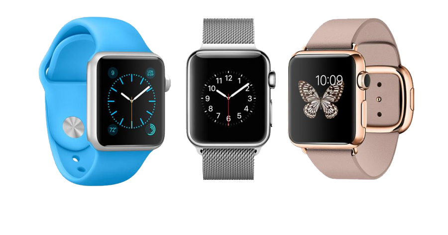 Three iwatch PNG Image
