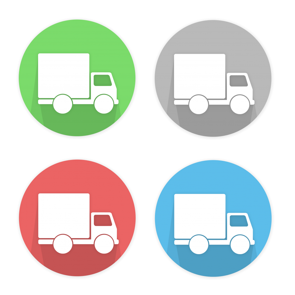 Transport Icons PNG Image
