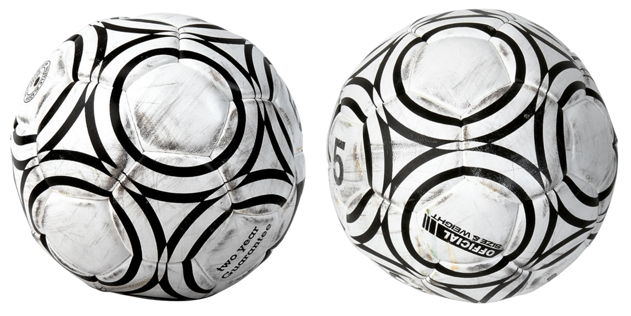 Two Footballs PNG Image