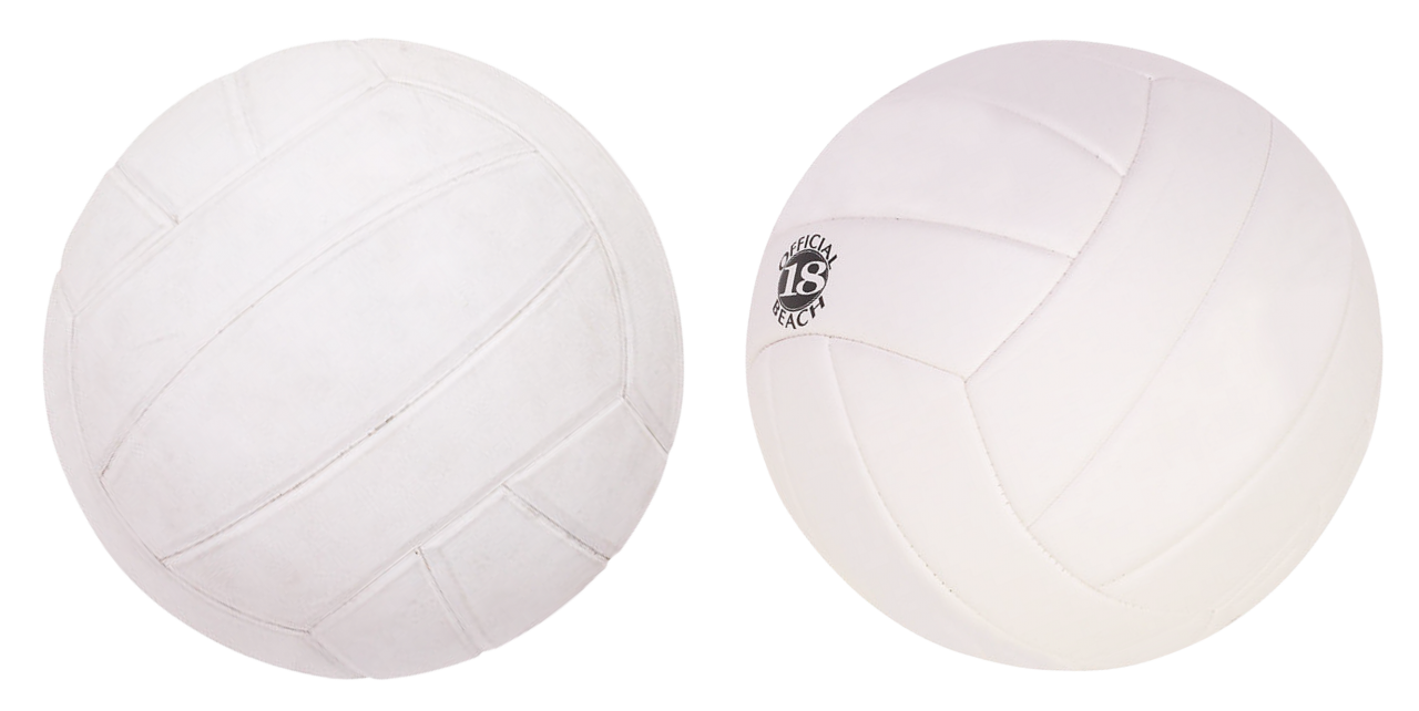 Two Volleyballs PNG Image