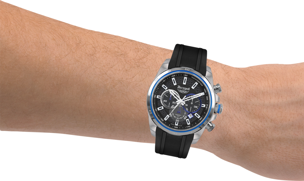Watch in Wrist PNG Image