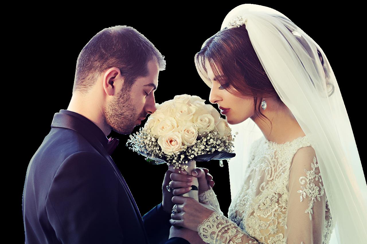 Wedding Couple PNG Image