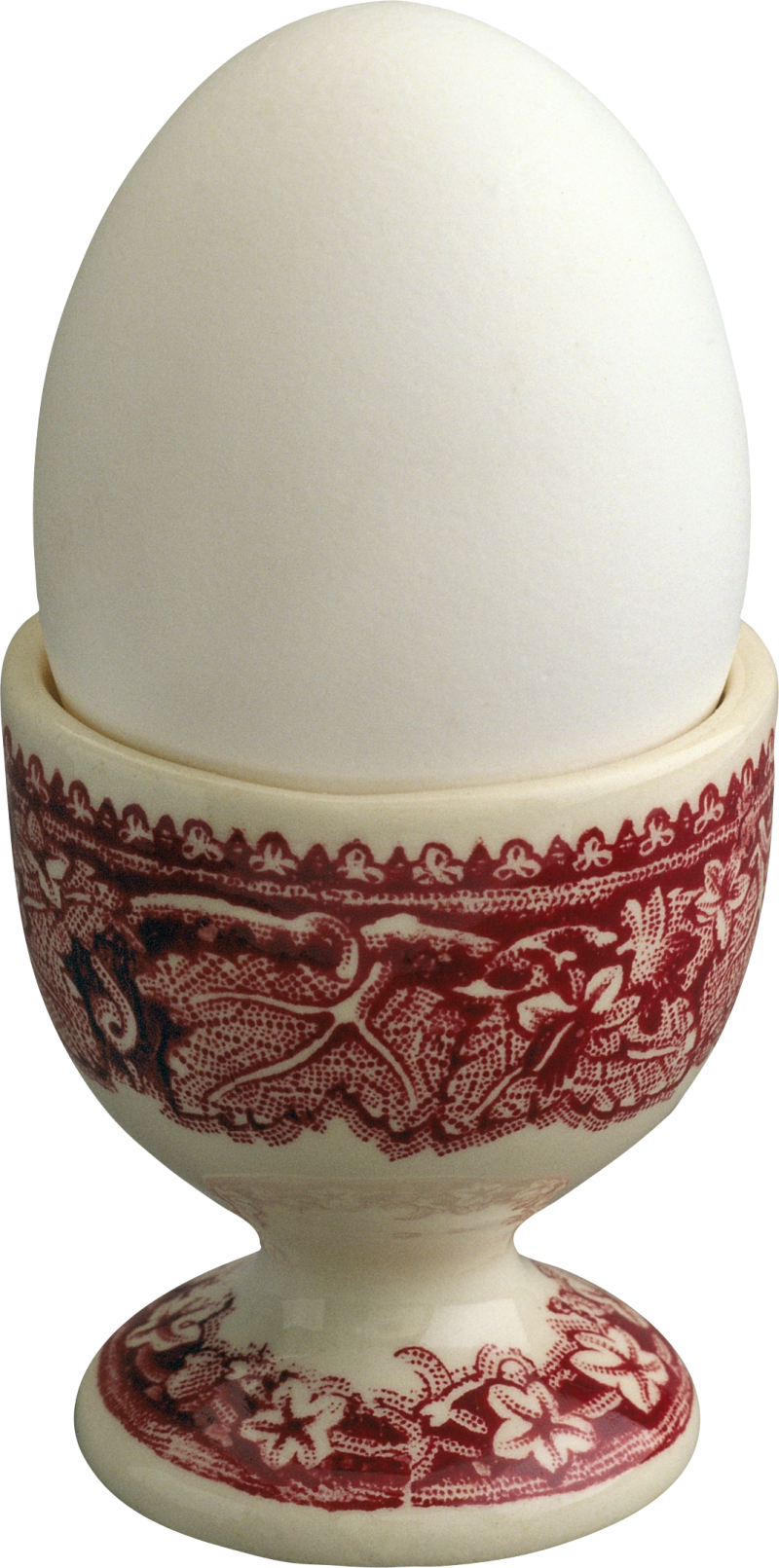 White Egg in Egg Cup PNG Image