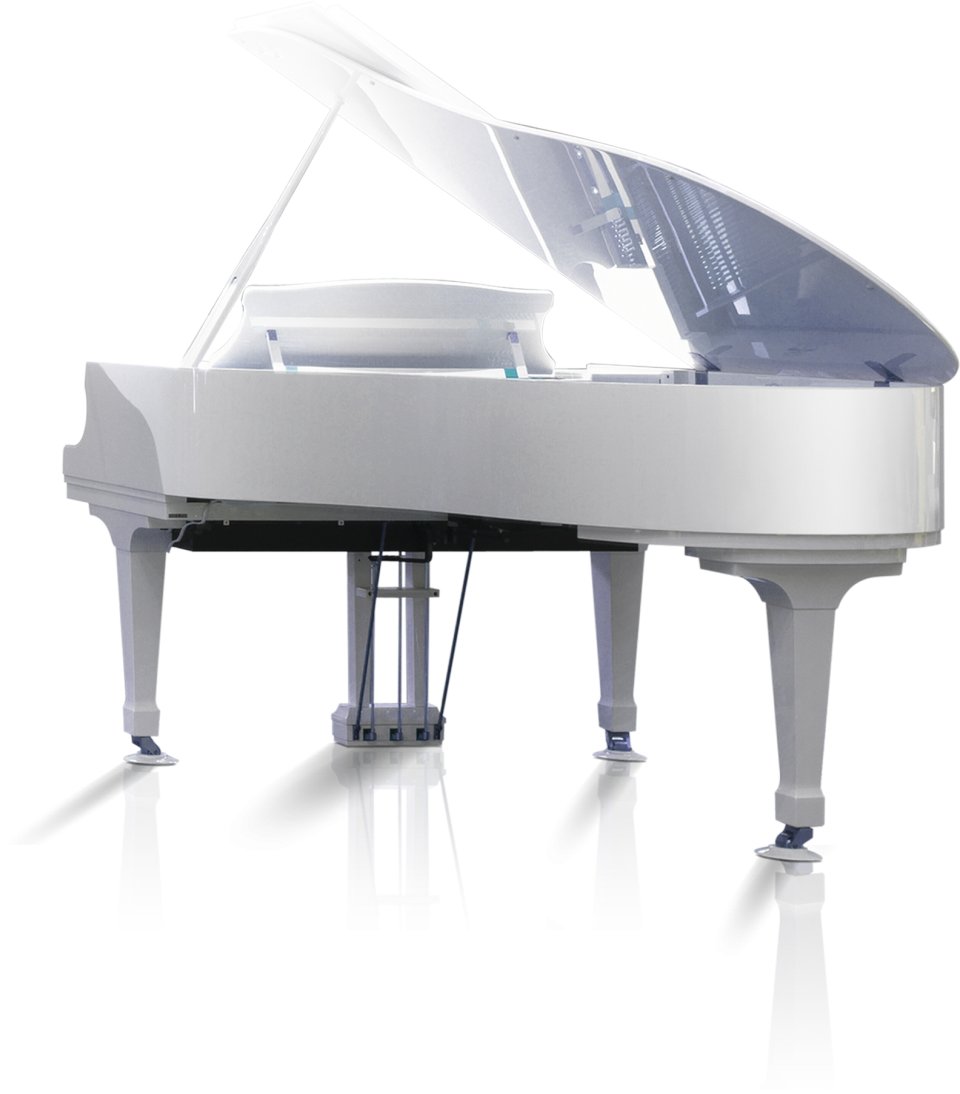 White Piano PNG Image
