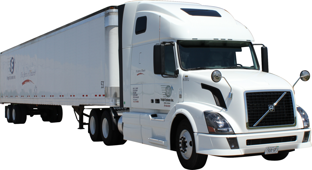 White Truck PNG Image