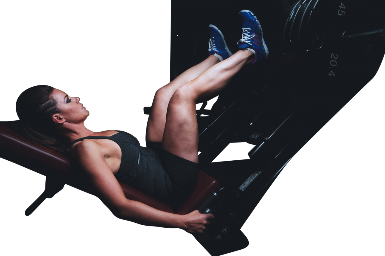 Woman doing workout PNG Image