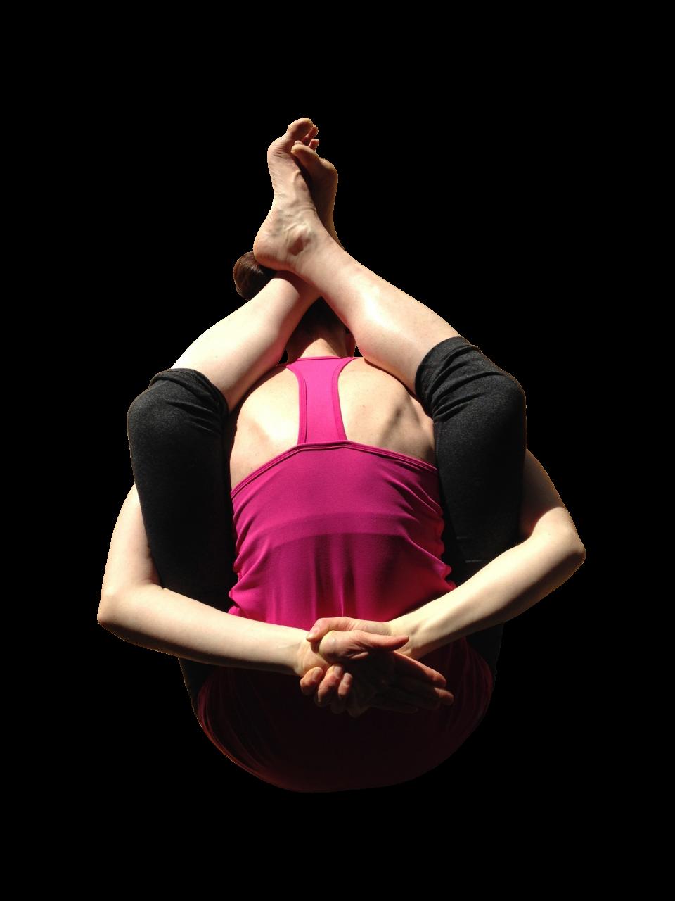 Woman exercising PNG Image