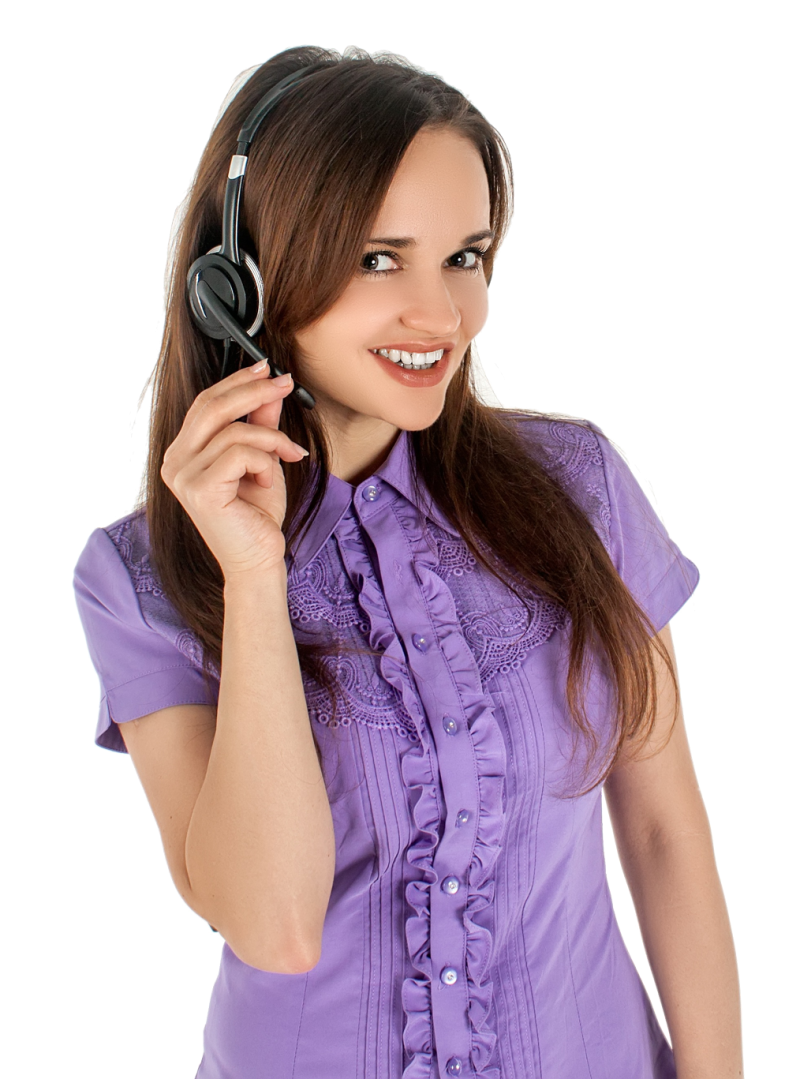 Woman listening Music PNG Image