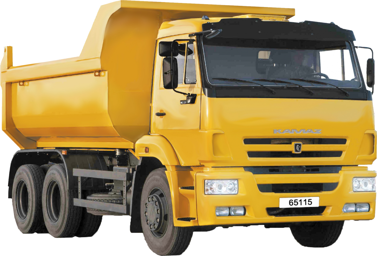 Yellow Truck PNG Image
