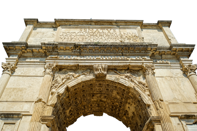 Arc de Triomphe - Paris PNG Image