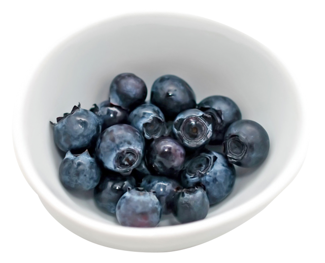 Blueberry in Cup PNG Image