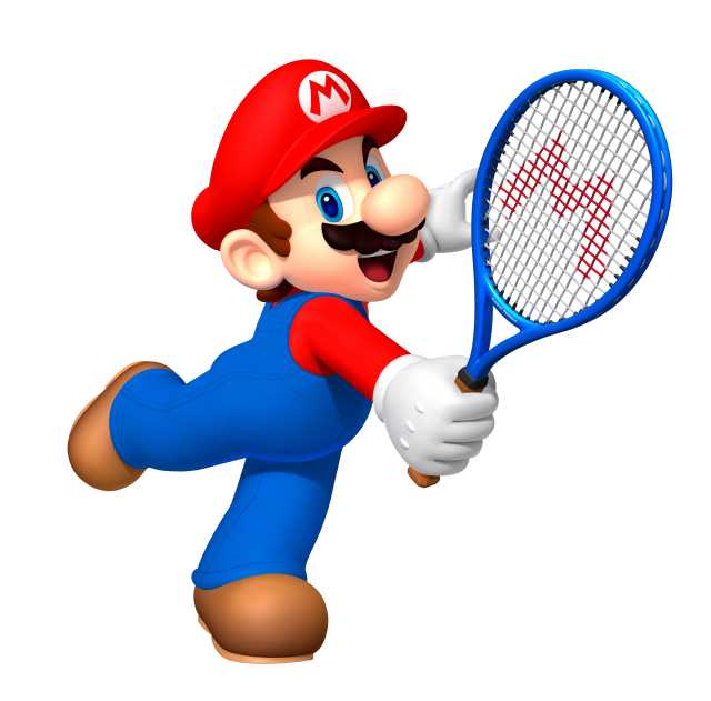 Mario Playing PNG Image
