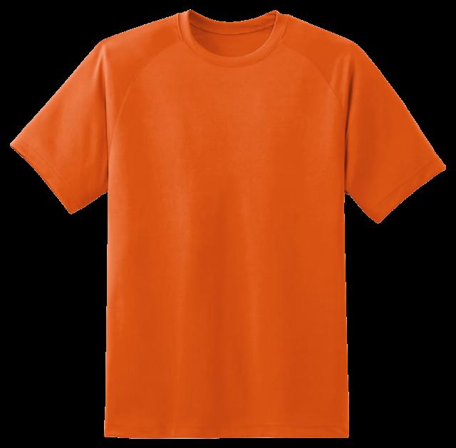 T Shirt Orange PNG Image