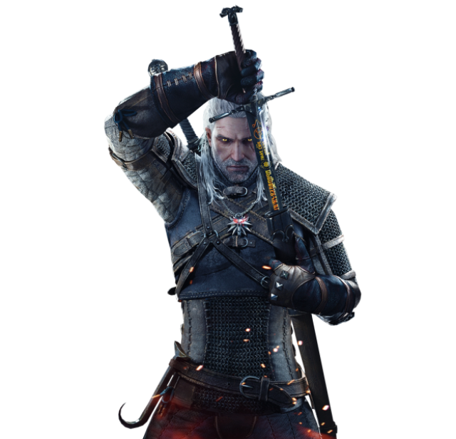 The Witcher Geralt PNG Image