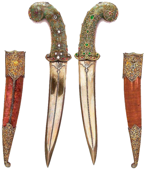 Swords and Sheaths PNG Image