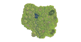 Fortnite Battle Old Royale Map PNG
