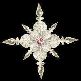 Shiny Christmas Star PNG
