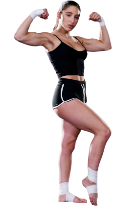 Abella Danger Muscle Pose PNG