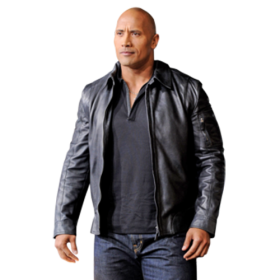 Actor Dwayne Johnson PNG
