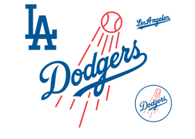 All Dodgers Logos PNG