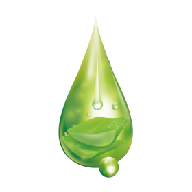 Aloevera Drop PNG