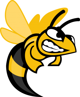 Angry Hornet Cartoon Clipart PNG