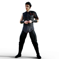 Animated fighter PNG