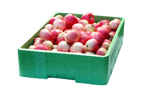 A Crate of Apples PNG