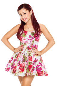 Ariana Grande Looking Beautiful PNG