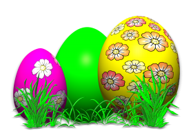 Art on Eggs PNG
