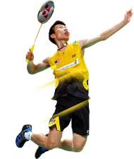 Asian Badminton player PNG