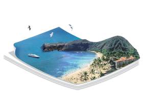 3-D Beach PNG