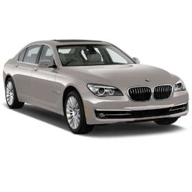 Beige BMW Sedan 5 2013 Car PNG