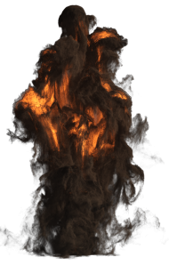 Smoking Explosion PNG
