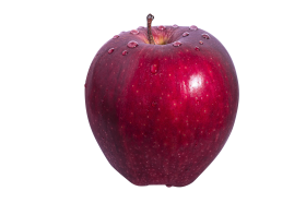 Big Red Apple PNG