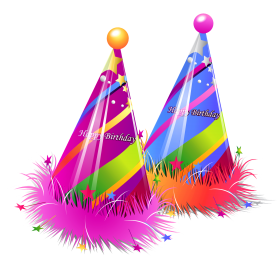 Birthday Caps PNG