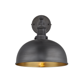 Black Border Golden Interior Lamp Light PNG