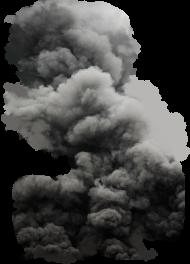 Black Cloud Smoke PNG